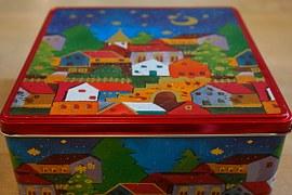 scatola colorata