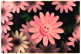 fiori sorridenti